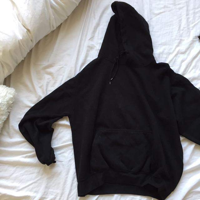 Brandy Melville black Christy hoodie