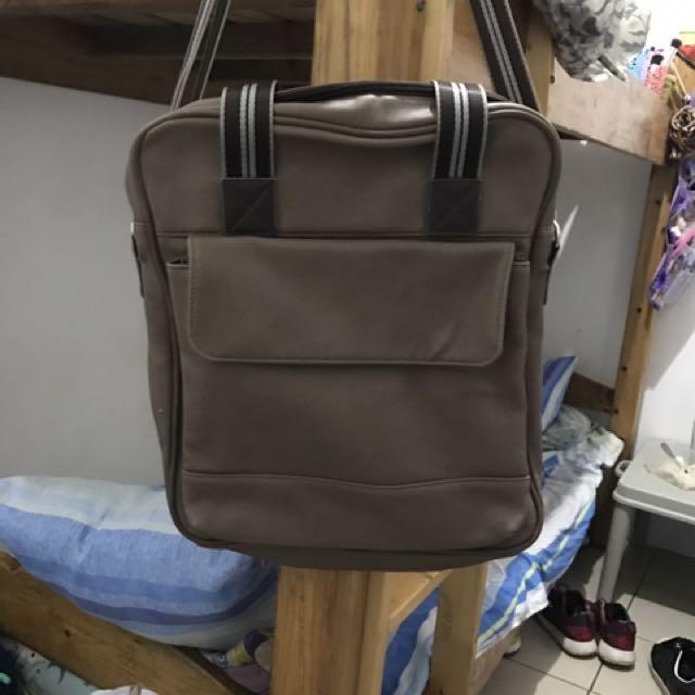 Brown Salvatore Man  Bag