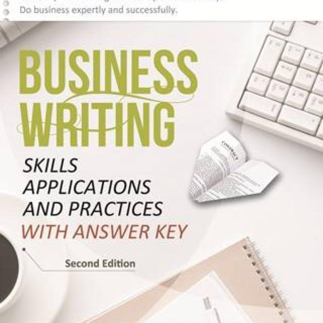 Business writing 商務英文 英文寫作 #教科書出清 英文溝通