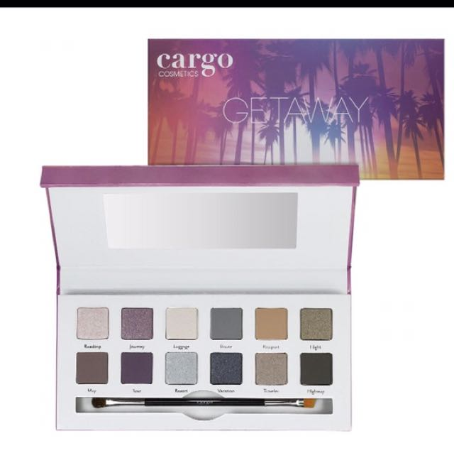 Cargo getaway eyeshadow pallet