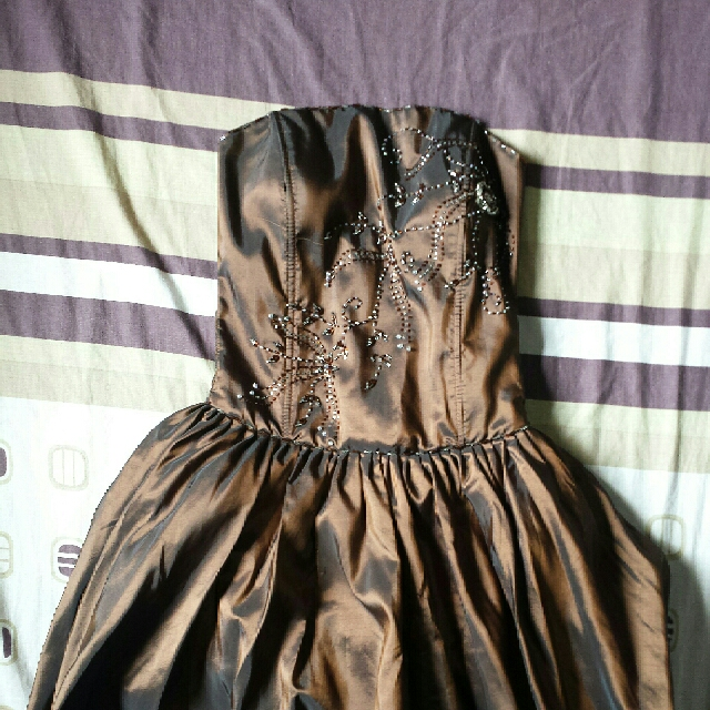 Cocktail Gown Brown