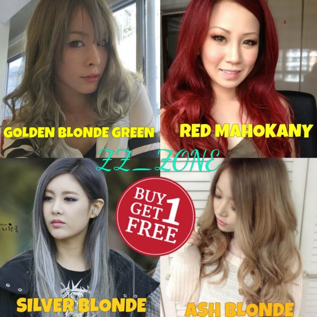 Crazy Promo Hair Dye Color Buy 1 Free 1 Health Beauty Hair