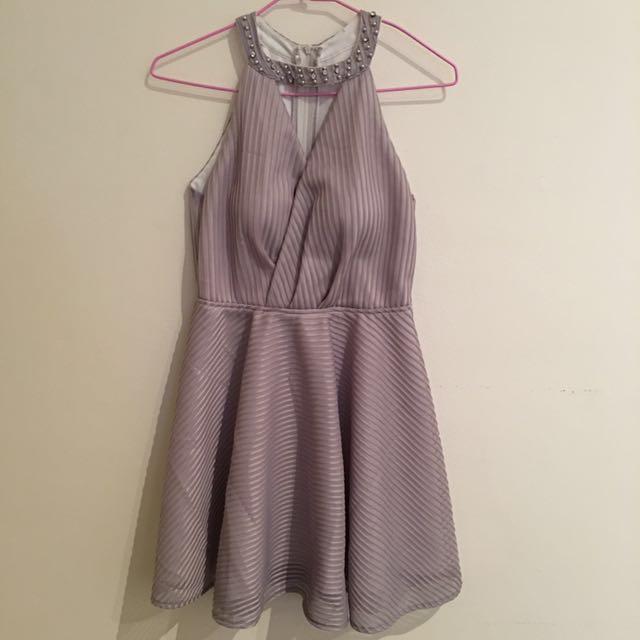 Custom-made Mauve Formal Dress