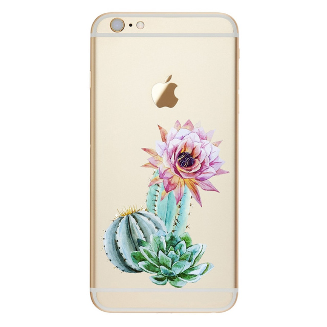 Cute Succulent Print Case - iPhone 7