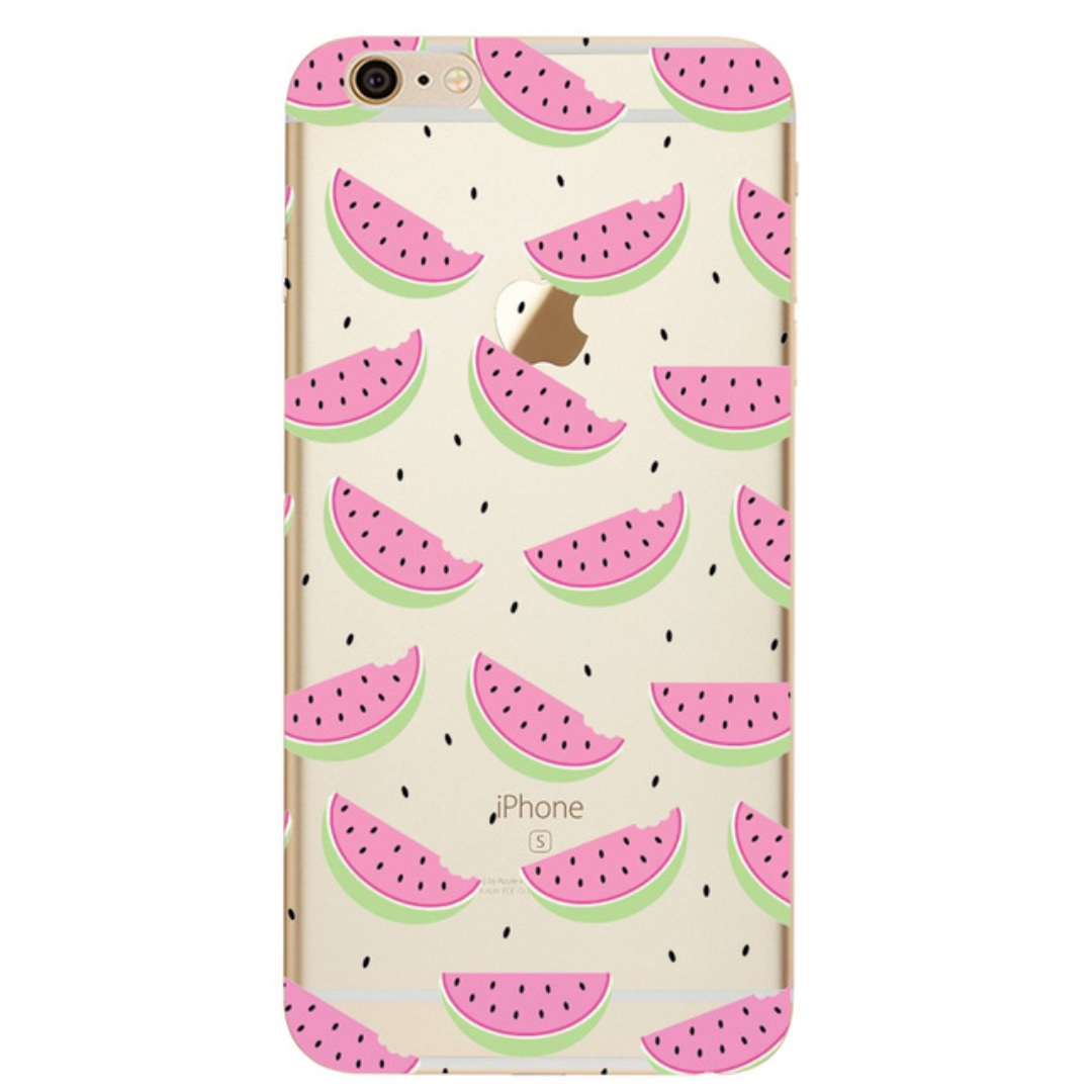 Cute Watermelon Print Case - iPhone 7