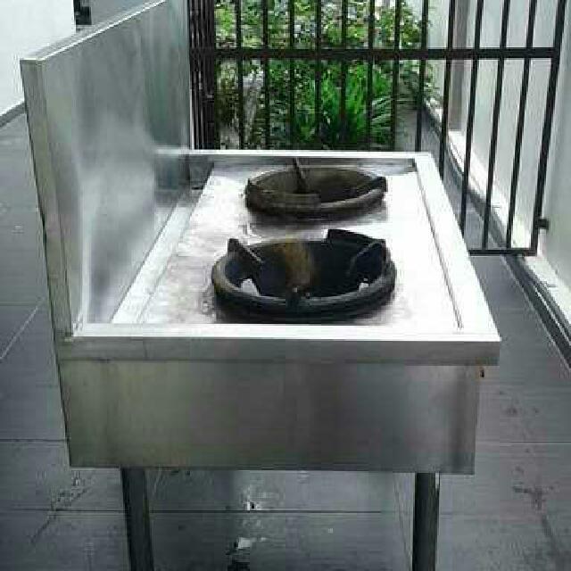 Dapur Stove Stainless Steel 2 Tungku Kitchen Liances On Carou
