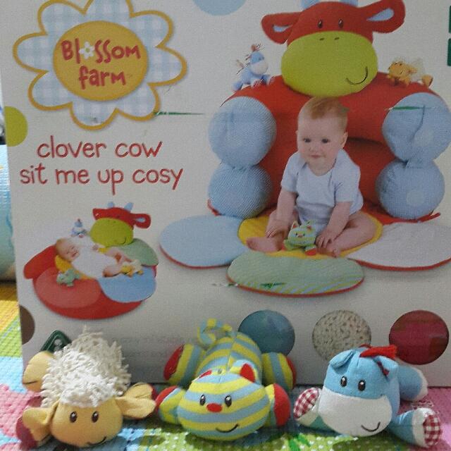 ELC tatakan dan tempat duduk bayi