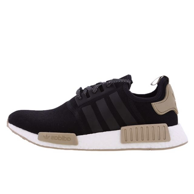 ccf72c9042dd5b EUROPE EXCLUSIVE  Adidas NMD R1 Black Brown Cardboard