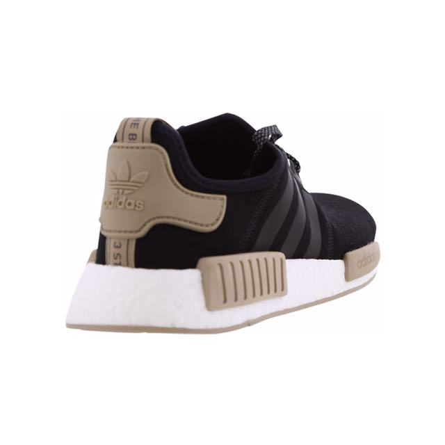 af798c8b3b04f8  EUROPE EXCLUSIVE  Adidas NMD R1 Black Brown Cardboard