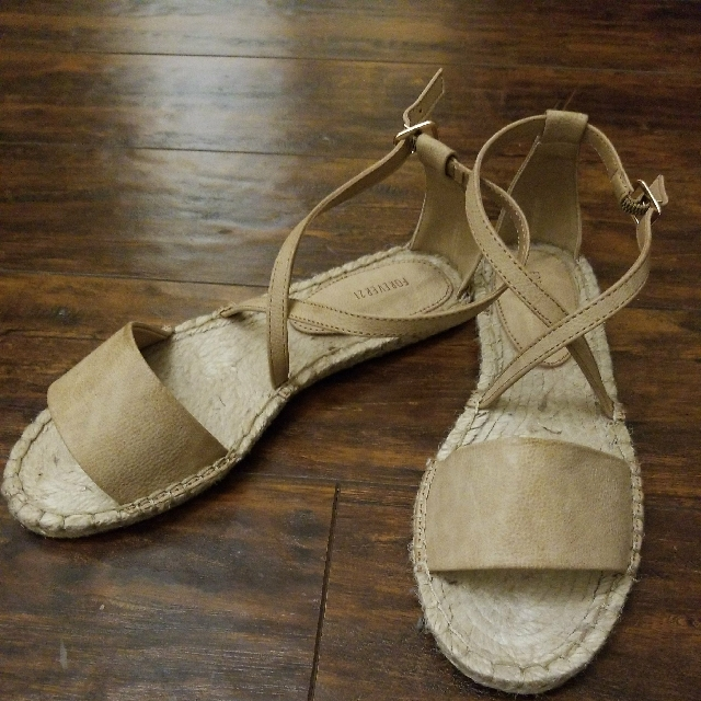 f21 brown sandals Size 7