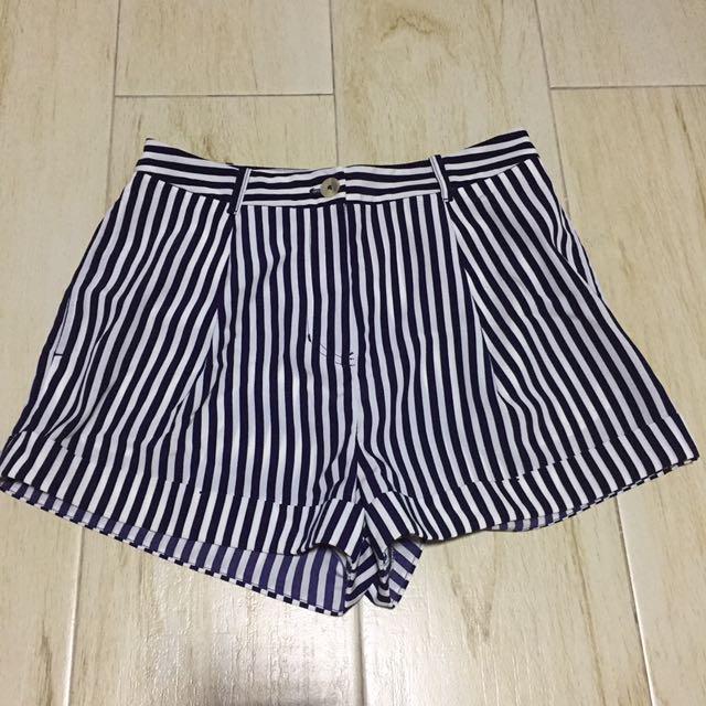 Forever 21 Stripes Shorts