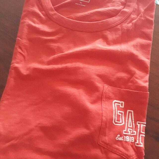 Gap 男大人logo長袖上衣