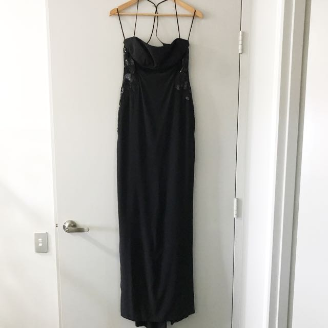 Gianni Versace black gown size 40