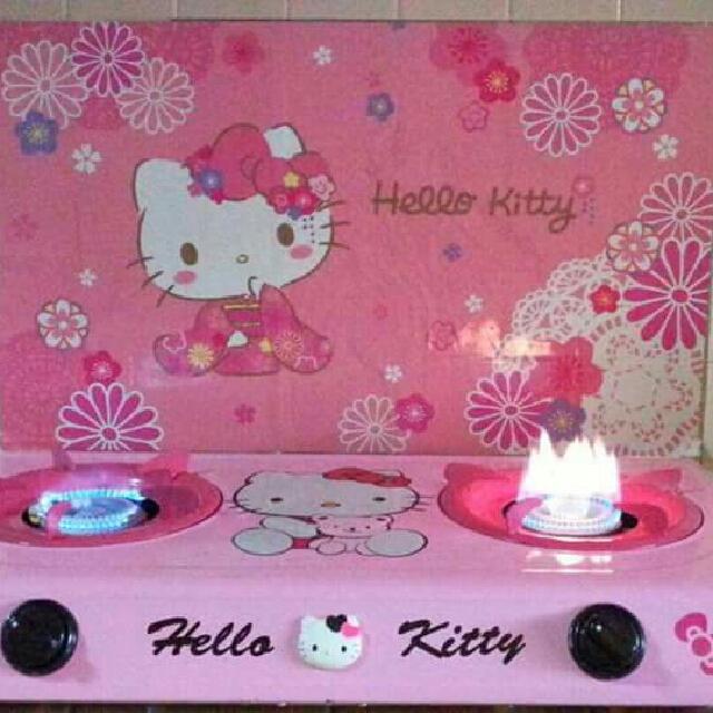 Hello Kitty Dapur Gas Kitchen Liances On Carou