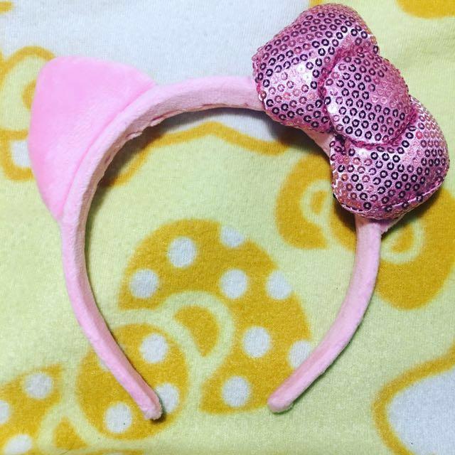Hellokitty Pink Headband