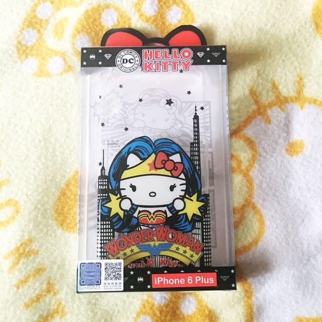 Hellokitty Wonder Woman ip6+ case
