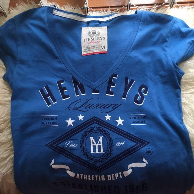 Henleys v-neck top