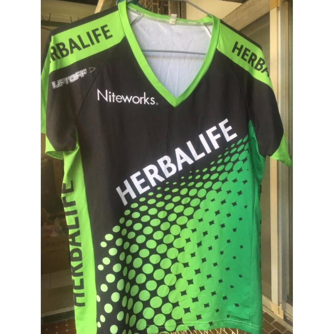 HERBALIFE 賀寶芙 運動衣 單車衣 liftoff niteworks 綠 XS(絕版品)