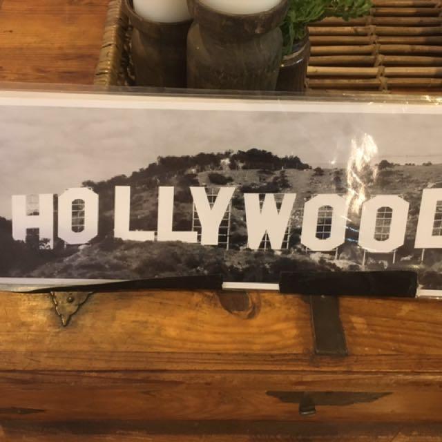 Hollywood hills photograph