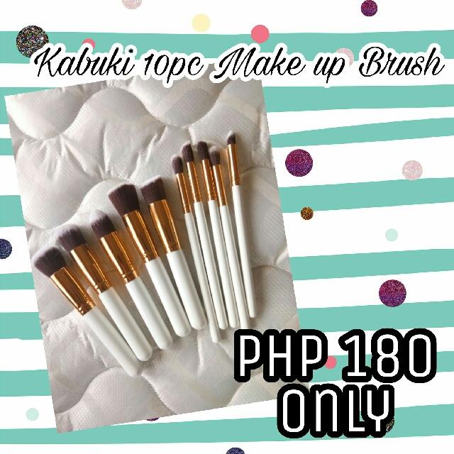 Kabuki 10pc make up brush