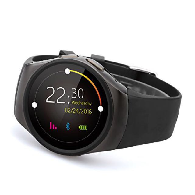 Kingwear KW18 Smartwatch Black, Electronics, Others on Carousell