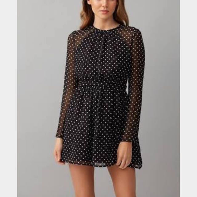 Kookai Polka Dot Dress - brand new