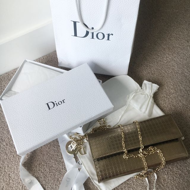Lady Dior Wallet on Chain
