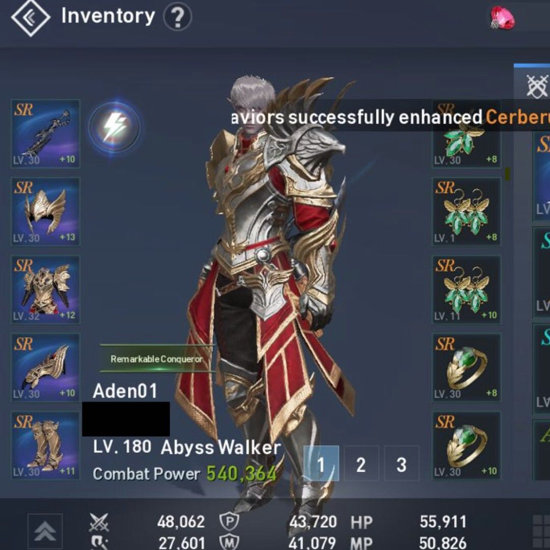 Lineage 2 Revolution Account - Abyss Walker, Toys & Games