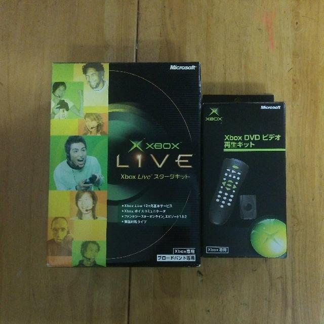 Microsoft XBox DVD Kit(日版)