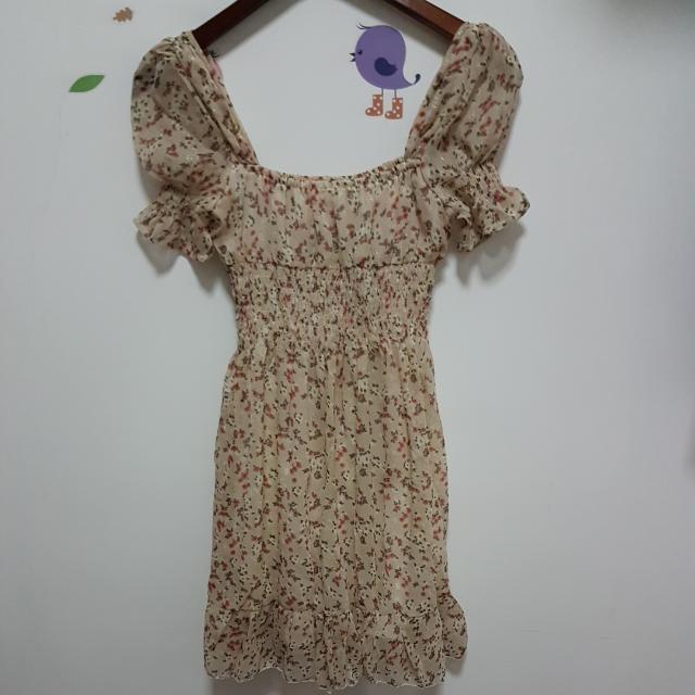 Mini Casual Dress Pendek