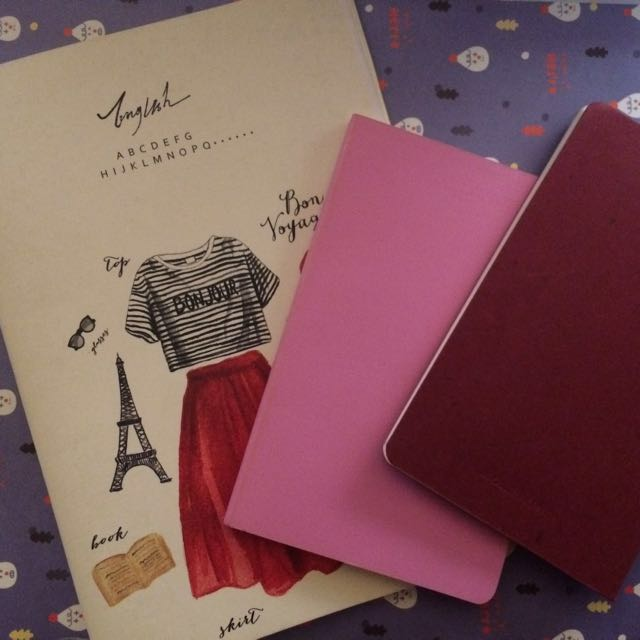 MOLESKINE NOTEBOOK AND OTHERS
