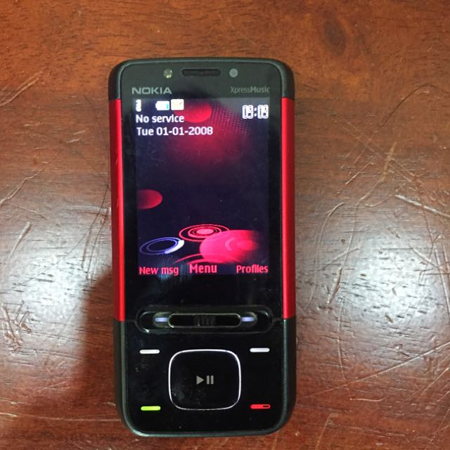 Nokia 5610 XpressMusic Mobile Phones Tablets Others On Carousell