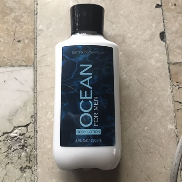 Ocean for mean body lotion