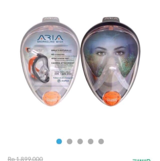 Ocean Reef Aria Snorkeling Mask