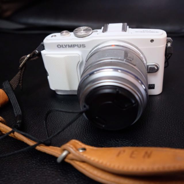 Olympus EPL6 with two kit lens