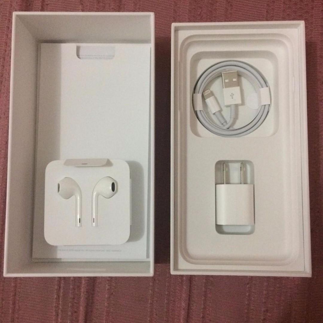 Original and Unused iPhone Accessories (no unit)