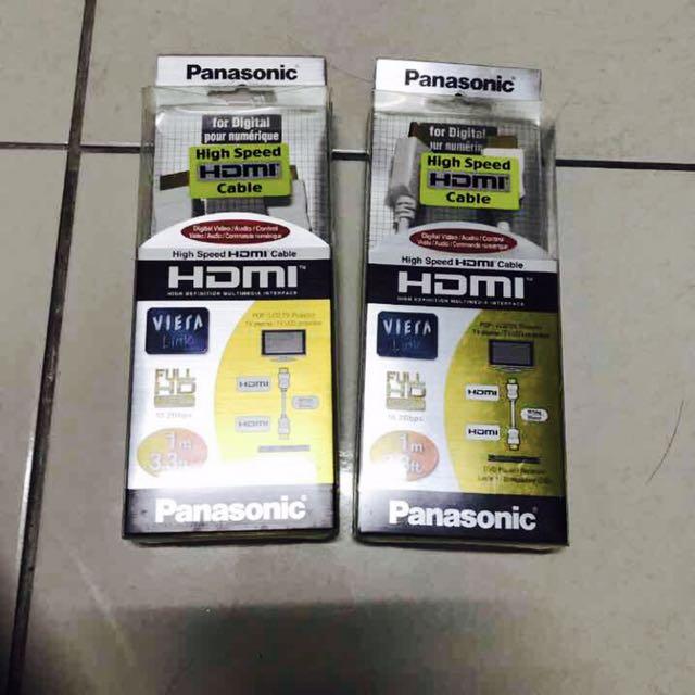 Panasonic HDMI超高畫質傳輸線 1米