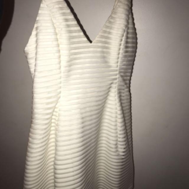 peppermayo white dress