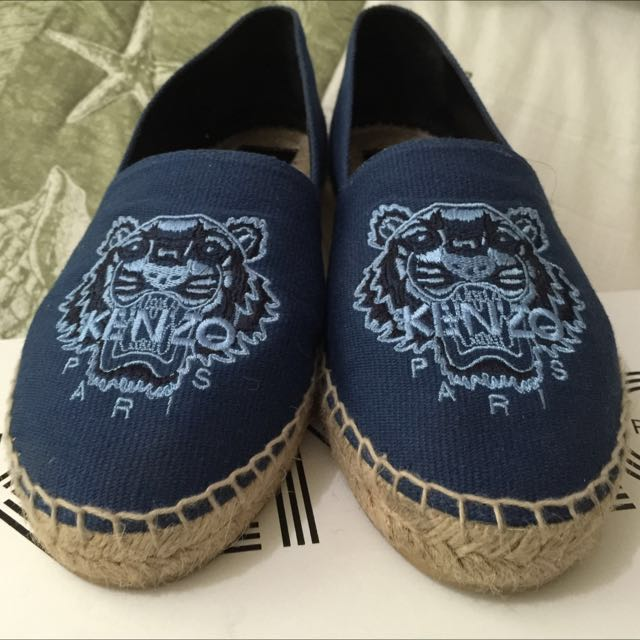 Preloved Authentic Kenzo Espadrille on sale now!! Only RM500