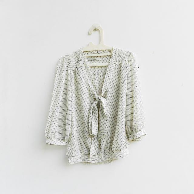 [PRELOVED] Zara - polkadot blouse