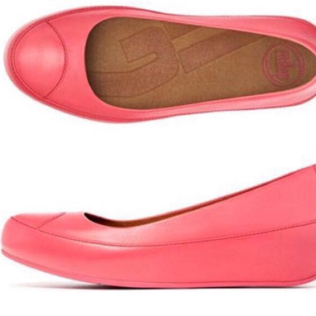 948e31c68d2830 PRICE REDUCED. Preloved Authentic Fitflop Due Leather Punch Pink ...