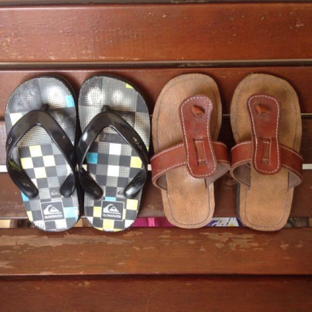 Quicksilver sandal BONUS Jogja sandal