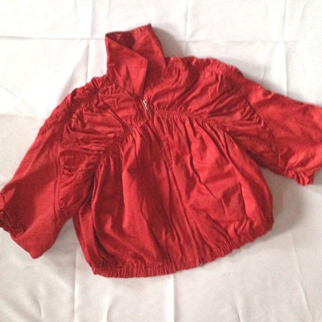 Red Jacket/ Bolero