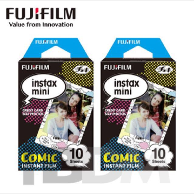 Refill intax mini Comic Edition 2 pack (20 sheet)