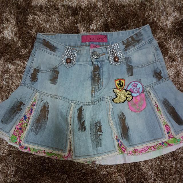 Rok Jeans Retro Patch