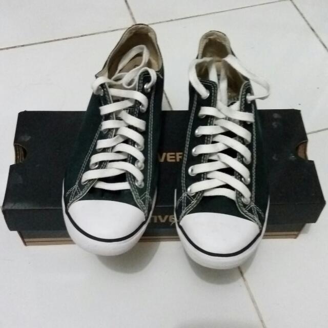Sepatu Converse CT Lean OX Black Original Size 41