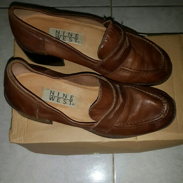 REPRICE Sepatu NINE WEST Ori Leather Size 37