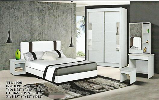 Set Murah Bed Room Model 19001 Home Furniture On Carou