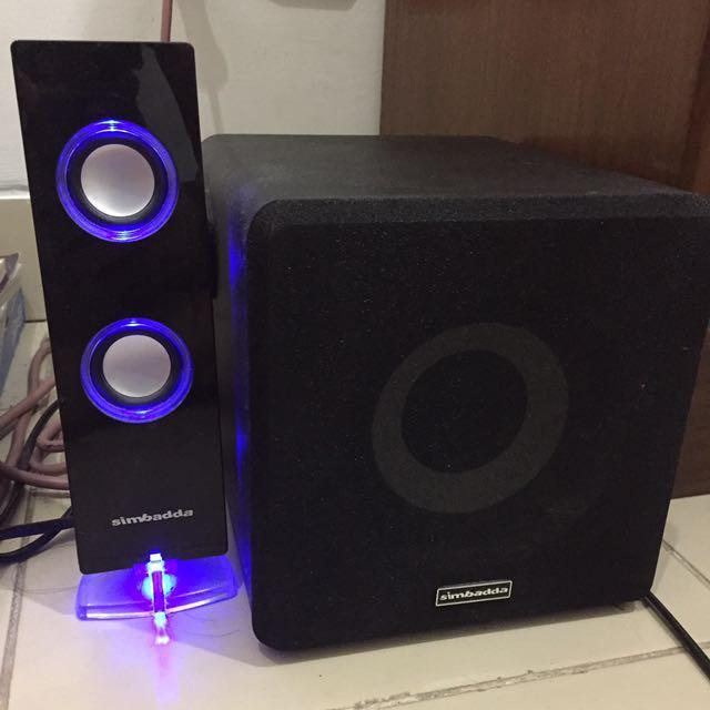 Simbadda stereo speaker