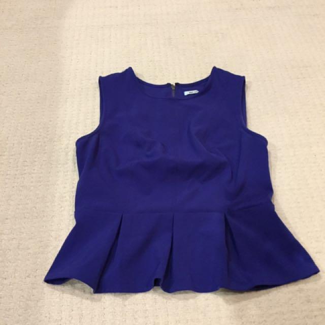 Size M - Kimchi Blue Peplum Top